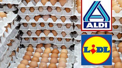 Kosten-Schock! Lidl und Aldi erhöhen Eier-Preise