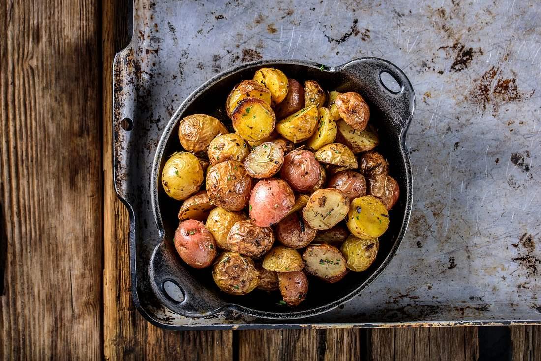 Knusprige Bratkartoffeln, so wie du sie leibst