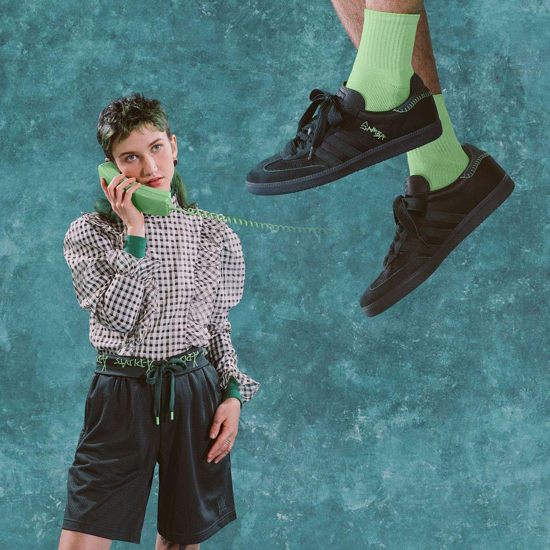 Teile aus der gemeinsamen Kollektion von adidas Originals und Jonah Hill