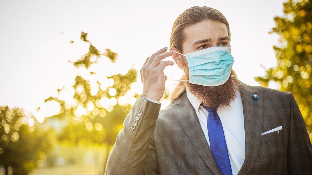 Mundschutz selbst basteln: So gehts