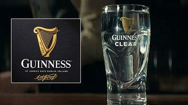 Brauerei wirbt mit Guinness Clear