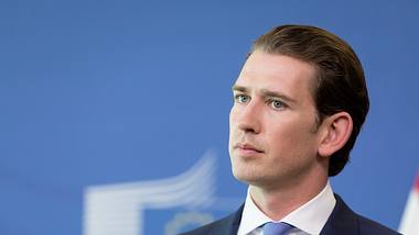 Österreichs Kanzler Sebastian Kurz  - Foto: Getty Images /  Thierry Monasse