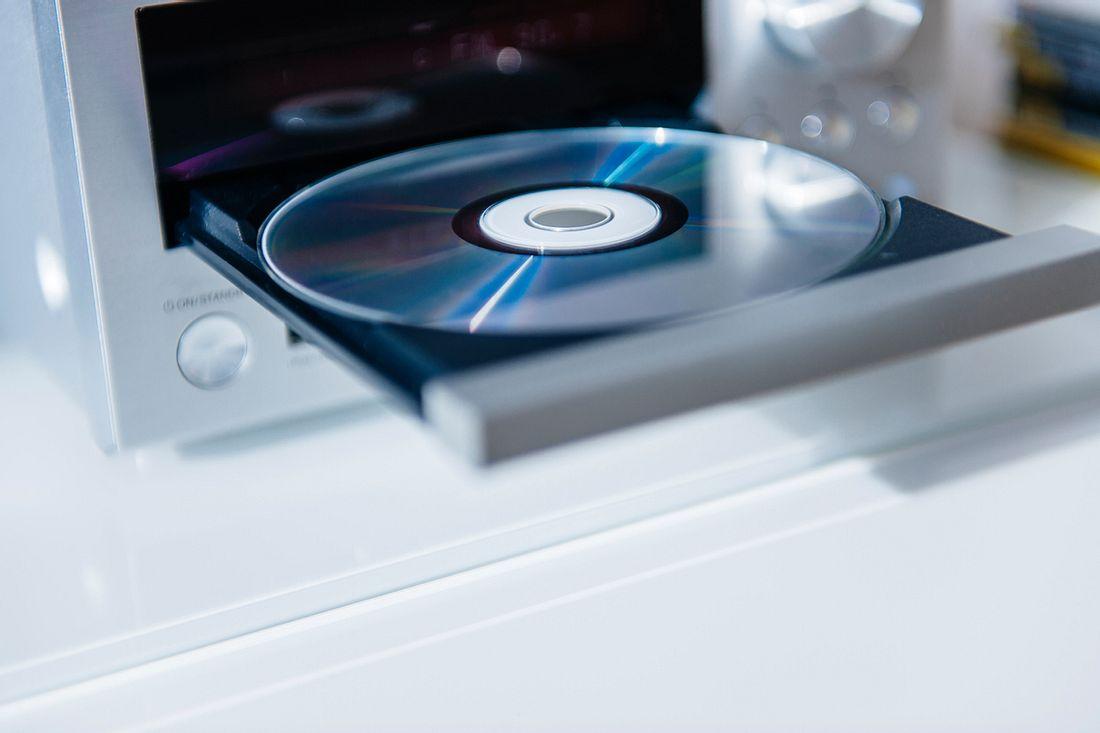 CD in CD Player