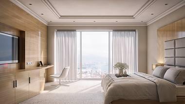 Leeres Hotelzimmer - Foto: iStock / MattSchia_