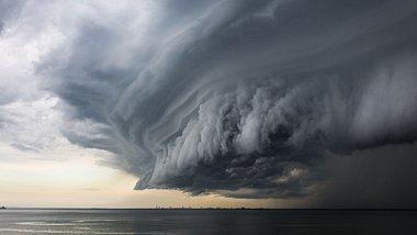 Sturmböen und Regen: Das Wetter zum Wochenende