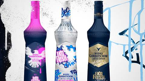 Eko Fresh x Wodka Gorbatschow: Limited Edition bald im Handel