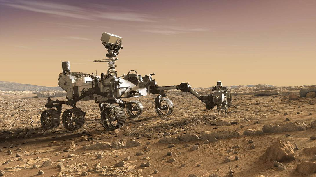 Mars-Rover - Foto: IMAGO / Cover-Images