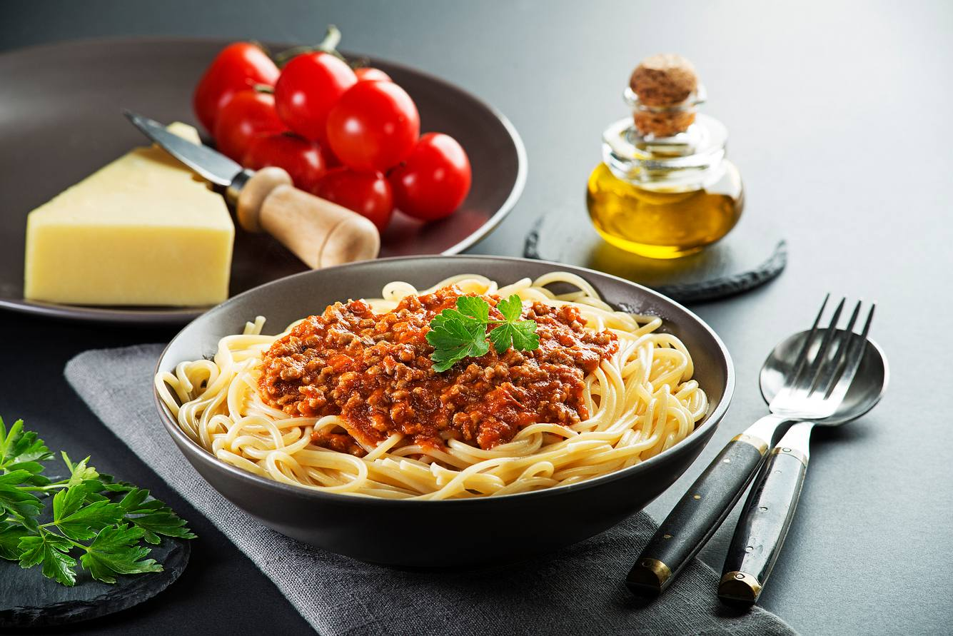 In Italien unbekannt: Spaghetti Bolognese