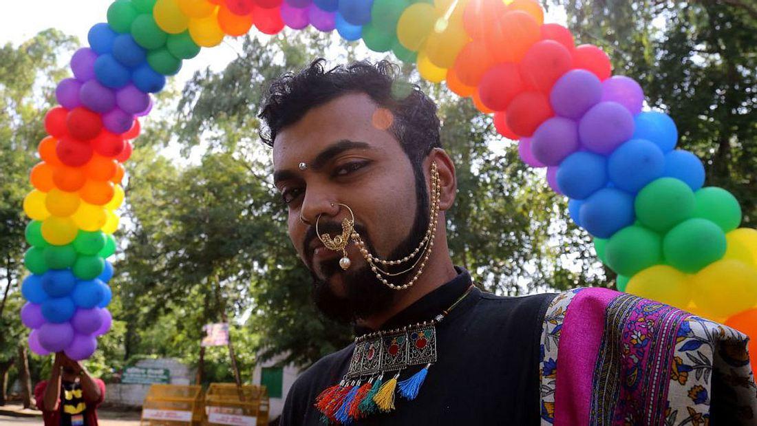 Homosexualität ist nicht mehr illegal in Indien.