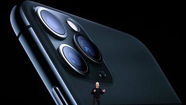 Apple-CEO Tim Cook stellte das iPhone 11 vor - Foto: Getty Images/Justin Sullivan