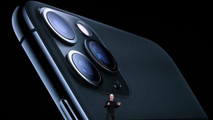 Apple-CEO Tim Cook stellte das iPhone 11 vor