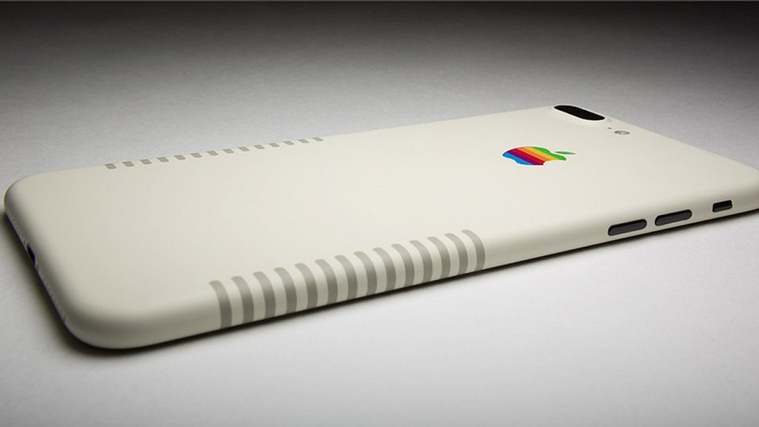 Das iPhone 7 Plus Retro-Edition von Colorware