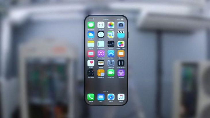 Kommt das iPhone 8 mit randlosem OLED-Display oder wird es gar transparent, so wie in dieser Design-Studie von ConceptsiPhone