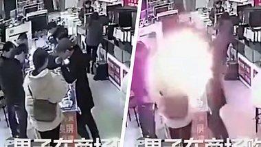iPhone-Akku explodiert in Mund von Mann