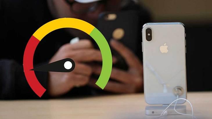 Ältere iPhones werden verlangsamt
