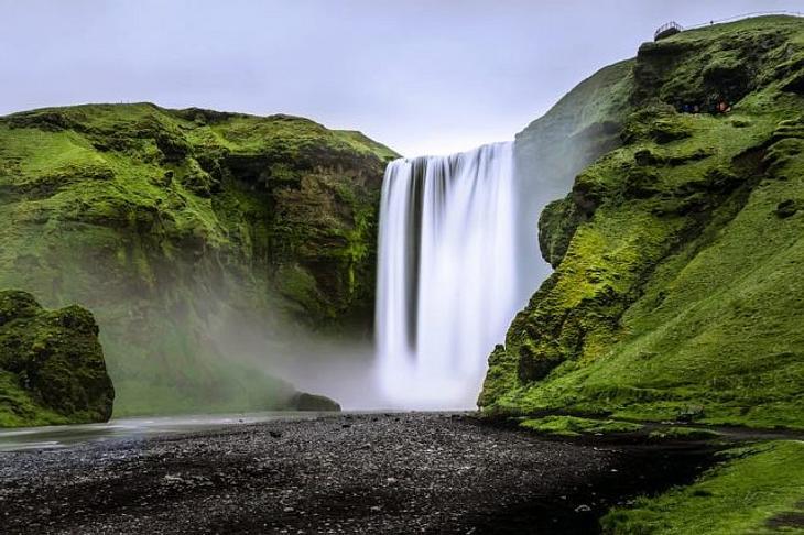 Ein Foto von Island