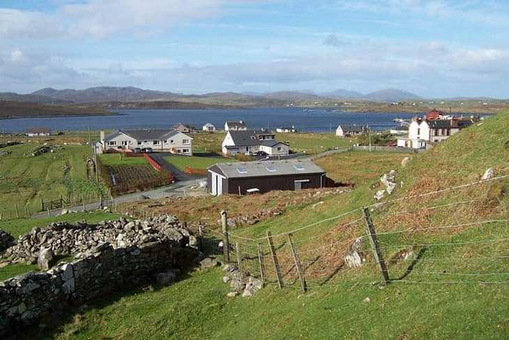 Ein Bild der Insel Lewis
