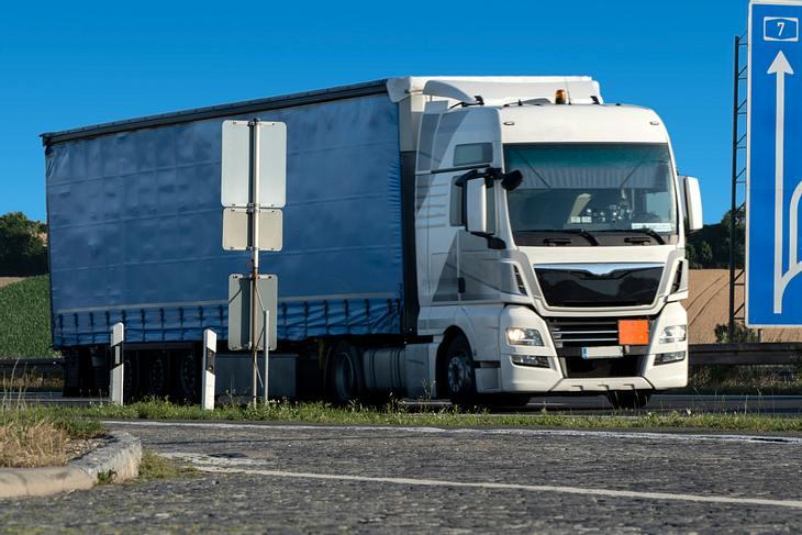 LKW auf deutschen Straßen