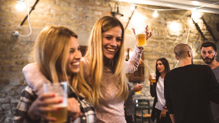 Bier macht glücklich