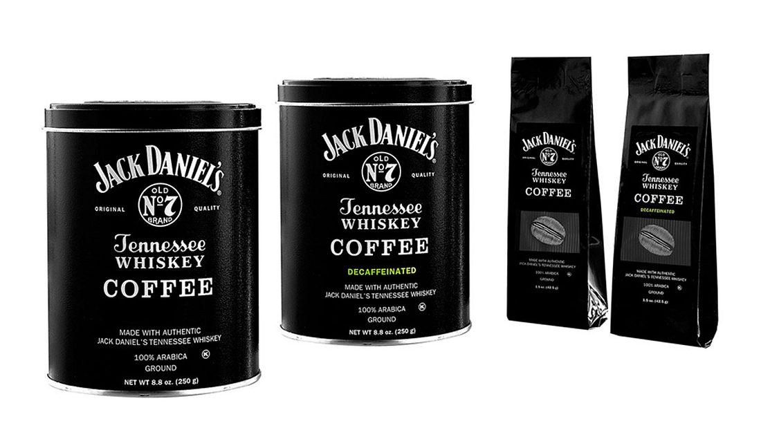 Kann online bestellt werden: Jack Daniel's Tennessee Whiskey Coffee