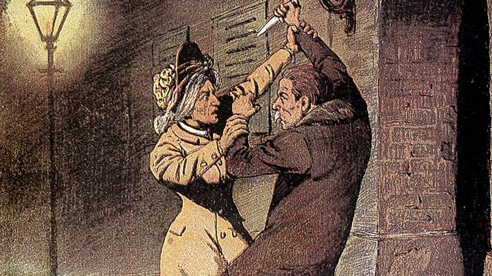Jack the Ripper schlachtete Prostituierte ab - Foto: Getty Images / pic / Kontributor