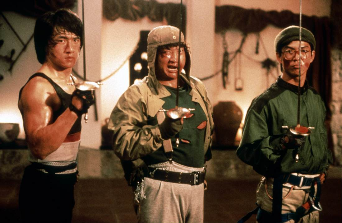 Jackie Chan, Sammo Hung und Yuen Biao