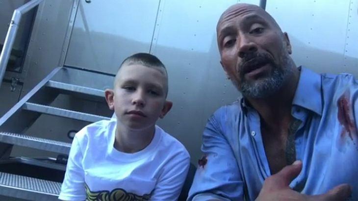 The Rock gerührt: 10-Jähriger rettet kleinem Bruder dank einem Film mit Dwayne Johnson das Leben