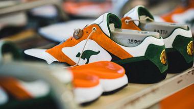 Exklusiv: Sneaker von Jägermeister und KangaROOS - Foto: Kane Holz