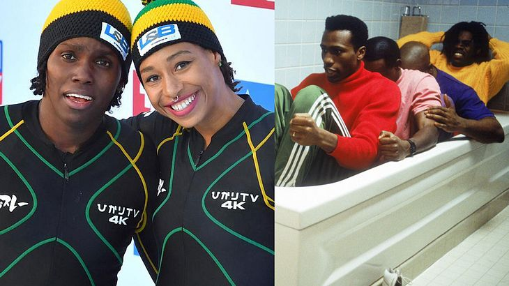 "2.-Bobteam aus Jamaica/ Film ""Cool Runnings"""