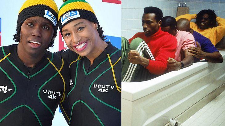 """2.-Bobteam aus Jamaica/ Film """"Cool Runnings"""""""