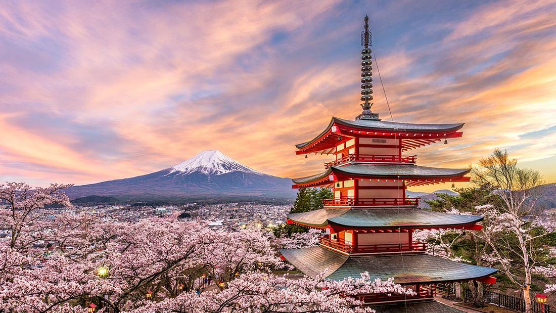 Japan, das Land der aufgehenden Sonne