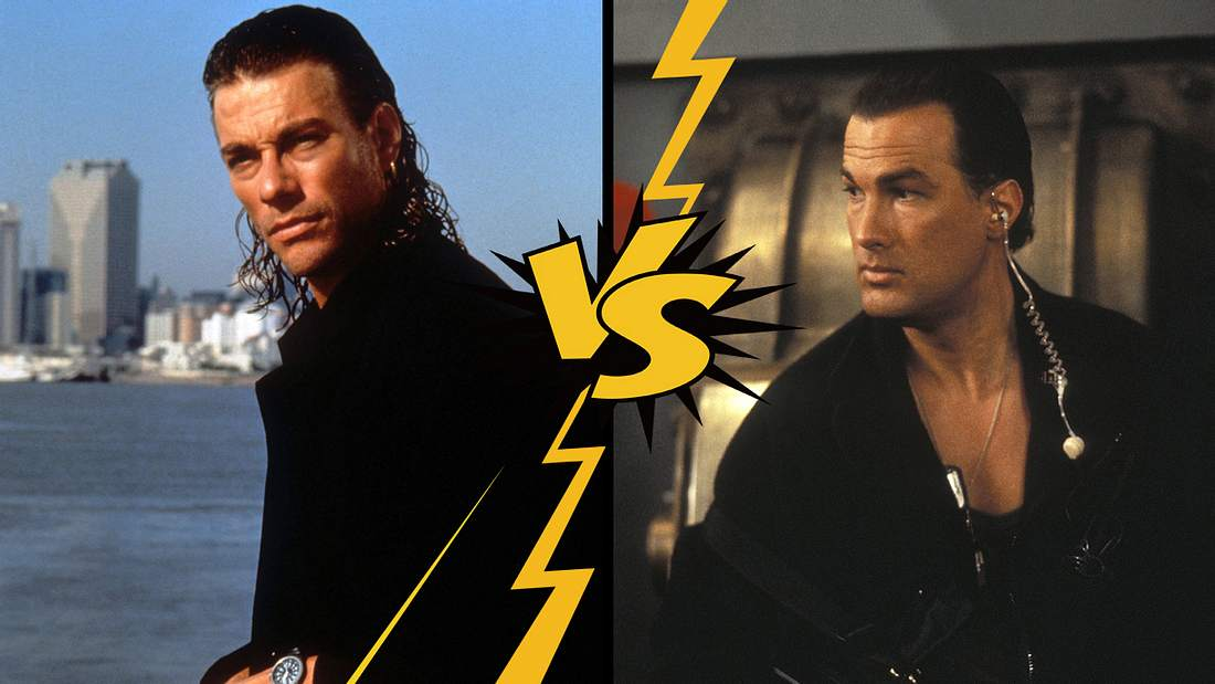 Jean Claude Van Damme und Steven Seagal