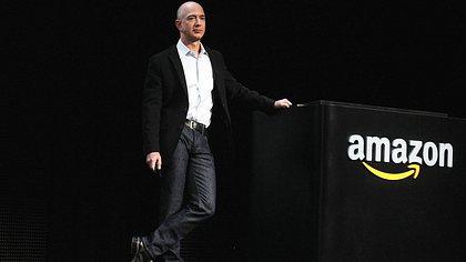 Amazon-Chef Jeff Bezos ist der reichste Mann der Welt - Foto: Spencer Platt/getty images