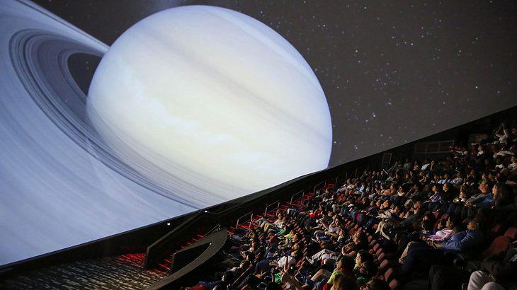Das Jennifer Chalsty Planetarium ist das größte in der westlichen Hemisphäre