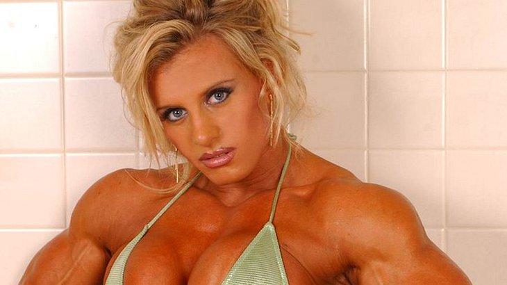Wenn Frauen durch Steroide komplett verwandelt sind