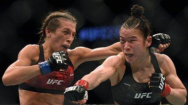 Mega-Kampf: UFC-Kämpferin Joanna Jedrzejczyk erleidet Elefantenkopf