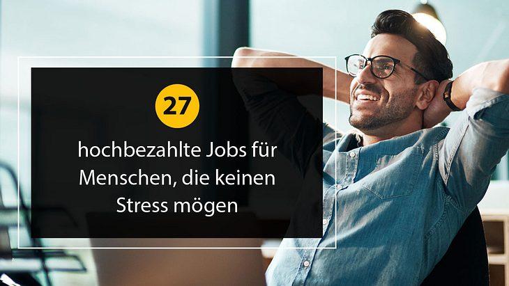 Entspannte Jobs