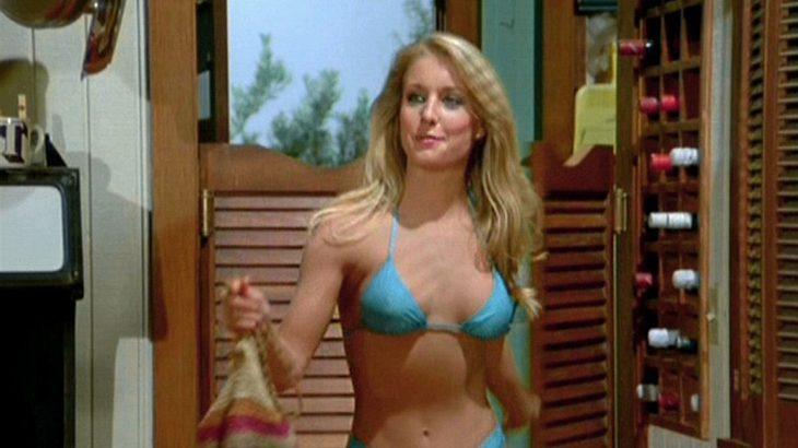 """Heather Thomas alias Jody Banks in """"Ein Colt für alle Fälle""""."""