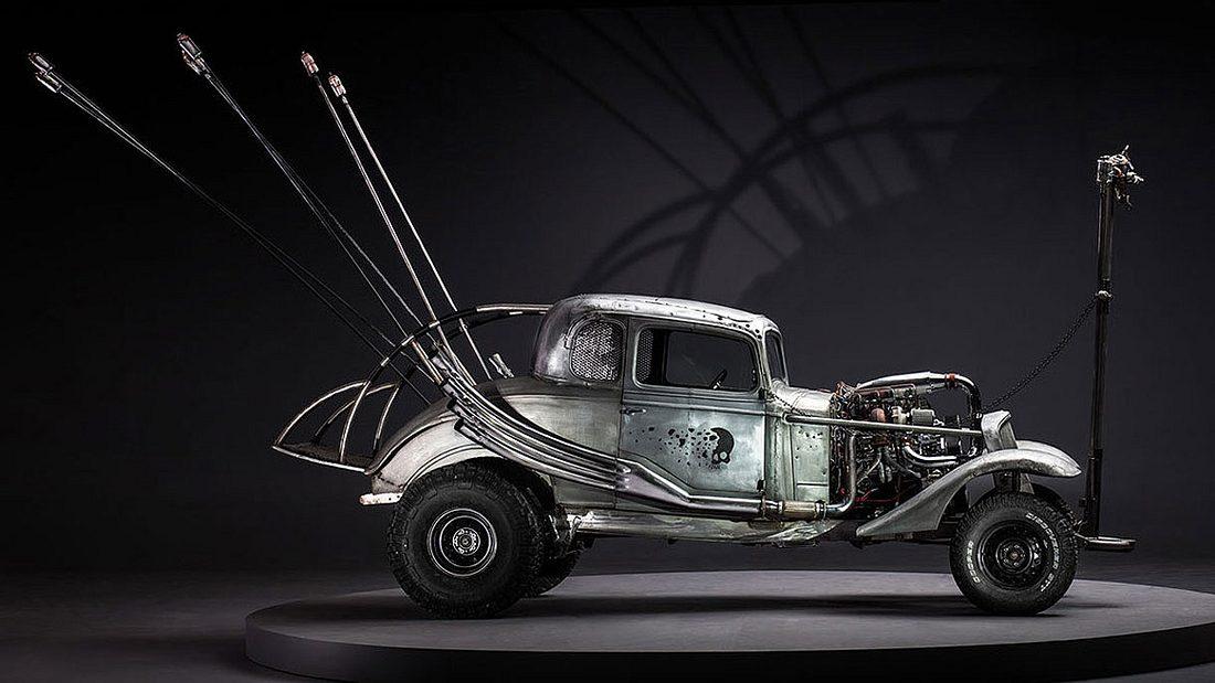 Before the Dirt von John Platt: Die Fahrzeuge aus Mad Max