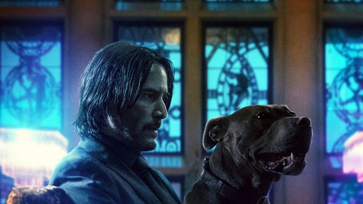 "Keanu Reeves in ""John Wick 3"""