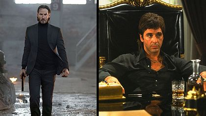 John Wick und Scarface - Foto: Studio Canal / Universal Pictures