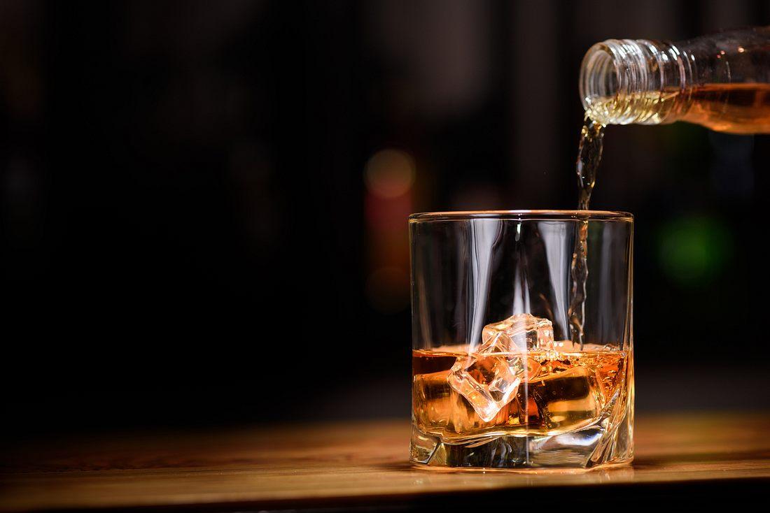 Whiskey im Glas