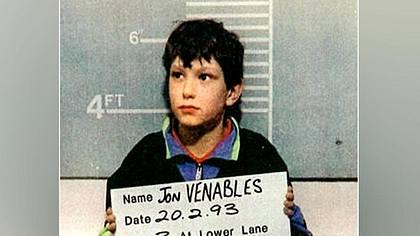 Jon Venables: Der jüngste Killer der Geschichte - Foto: twitter/DPolGHH