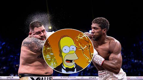 Joshua vs. Ruiz 2: Simpsons haben den Kampfausgang vorhergesagt