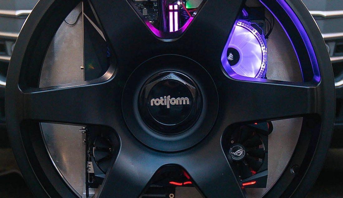 Der Wheel-One-Computer von B-One