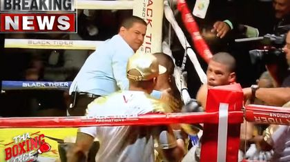 Boxer schlägt Gegner K.O. - dann knöpft er sich den Trainer vor