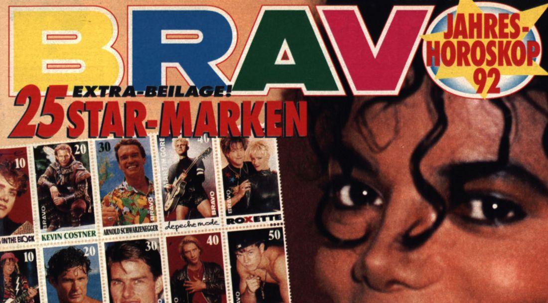 Ausschnitt eines Bravo-Covers