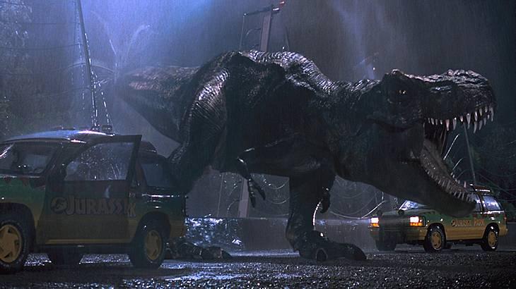 Der Tyrannosaurus Rex in Aktion