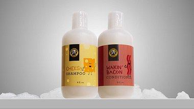 Jetzt kannst du Käse-Haarshampoo und Bacon-Conditioner kaufen