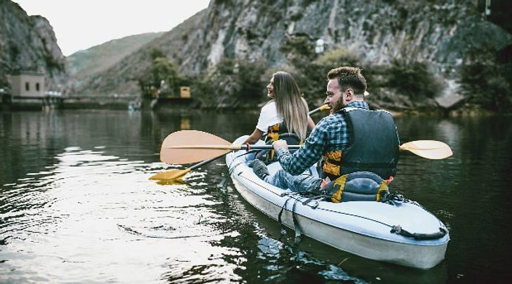 Kajak Kanu Kanadier kaufen aufblasbar Faltboot Test Vergleich